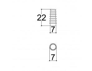 Passa fio de 4mm