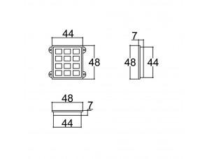 TECLADO 40X44