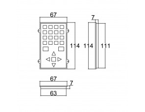TECLADO 48x110