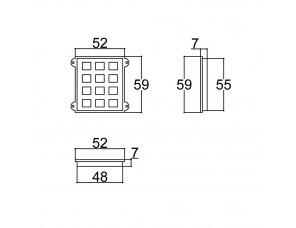TECLADO 48X55